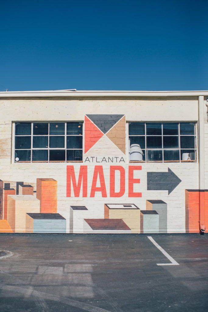 Atlanta made sign