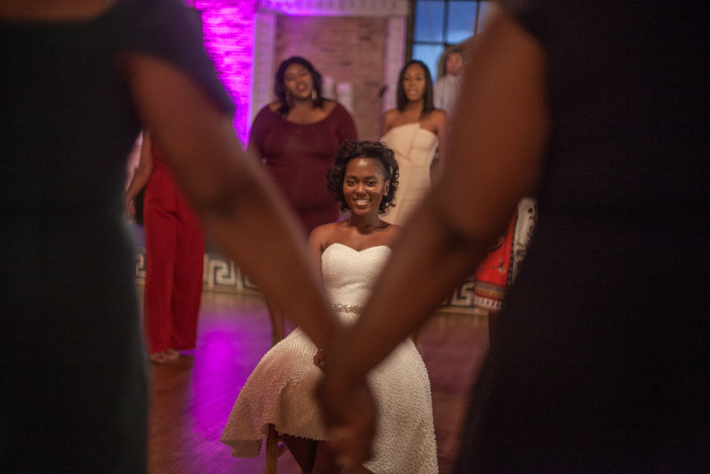 Sorors show up for wedding