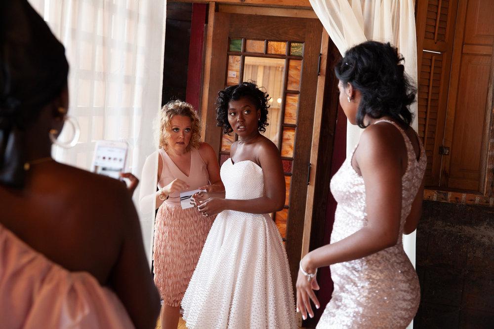 Get bride ready