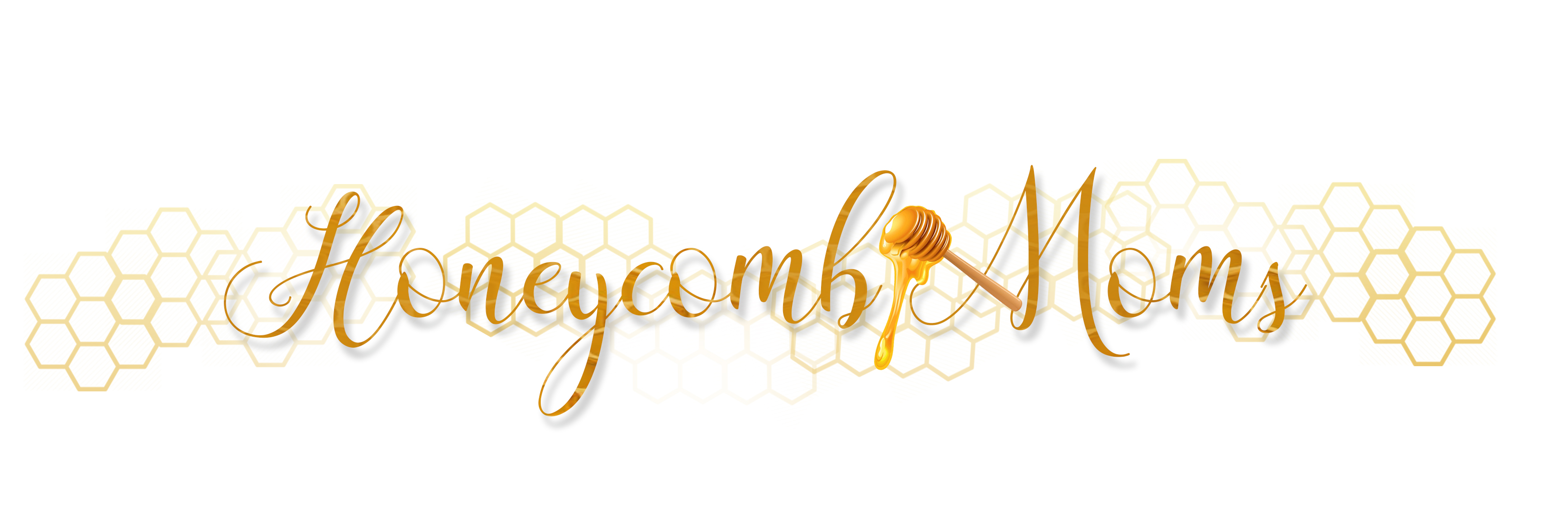 Honeycomb Moms logo white background