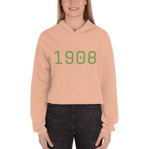 1908 peach hoodie