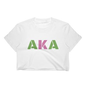 Custom AKA crop top