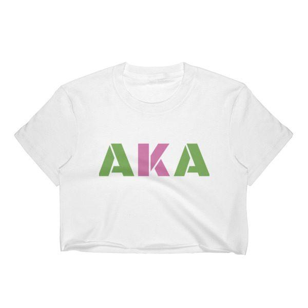 Custom AKA crop top