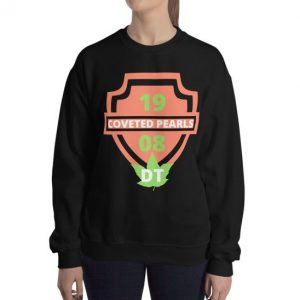 1908 sweatshirt in black