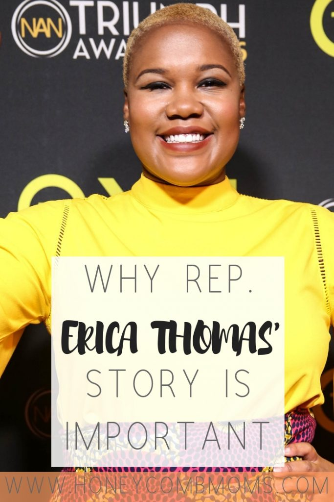 Why Rep. Erica Thomas' Story Is About More Than a Lie / Honeycomb Moms / Georgia Rep. Erica Thomas admitted she got a key detail wrong when a man cursed at her for using the wrong checkout line, but that's not the whole story.