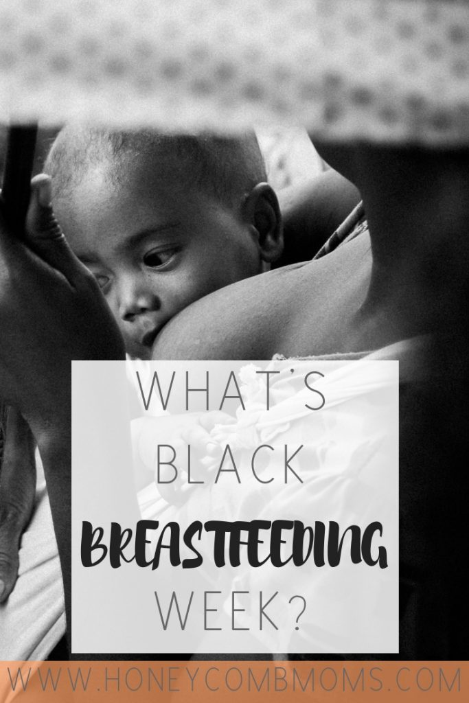 Why You've Been Seeing More Topless Black Women on Social Media Lately | Honeycomb Moms | If you're wondering why you're seeing more topless black women on Instagram these days. It's for good reason. It's Black Breastfeeding Week. Keep reading to learn more about the benefits of breastfeeding, tips to increase your milk supply, how to find lactation consultants and more.