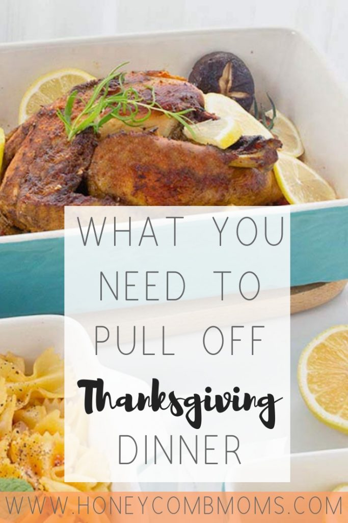 Everything You Need for Thanksgiving Dinner | Honeycomb Moms | Find bake-ware recommendations, soul food recipes, and tips to help you prepare this Turkey Day meal.
