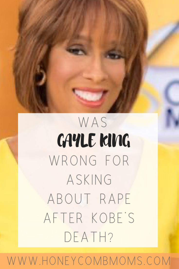 A journalist's take on explosive Gayle King interview with Lisa Leslie on rape allegation Kobe Bryant faced | Honeycomb Moms | CBS host Gayle King faced heavy criticism for bringing up a past rape allegation against late basketball legend Kobe Bryant during an interview with fellow star Lisa Leslie. Read a journalist's take on the controversy.